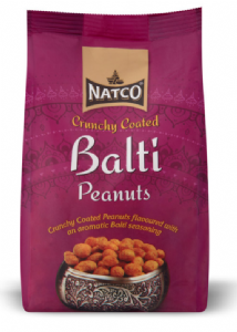 Natco Crunchy Coated Balti Flavour Peanuts | Buy Online at The Asian Cookshop.